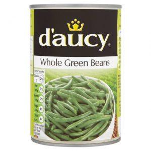 D'aucy Whole Green Beans 400G