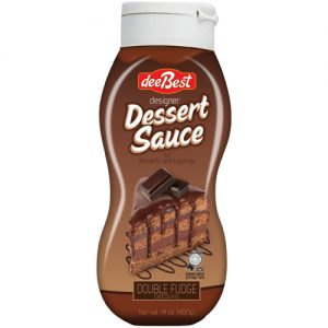 Dee Best Dessert Sauce Chocolate Fudge 400G
