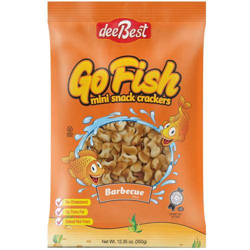 Dee Best Go Fish BBQ Cracker 350G