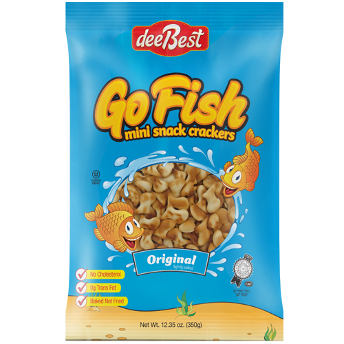 Dee Best Go Fish Original Salt Cracker 350G