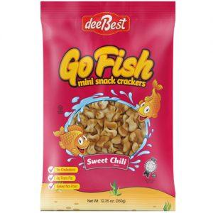 Dee Best Go Fish Sweet Chili Cracker 350G