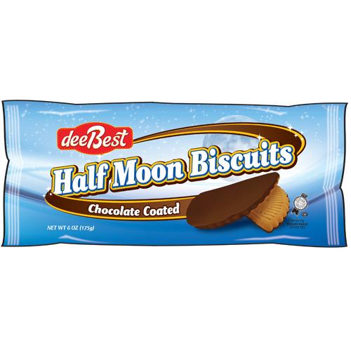 Dee Best Half Moon Biscuits  175G