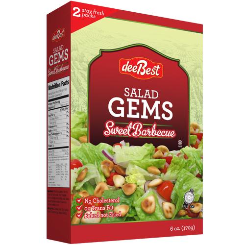 Dee Best Salad Gems BBQ 170G
