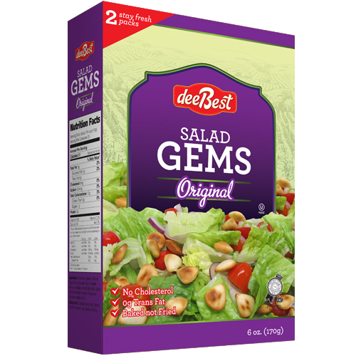 Dee Best Salad Gems Original 170G