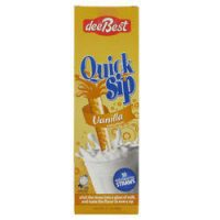 DeeBest Quick Sip Straws Vanilla x10 60G