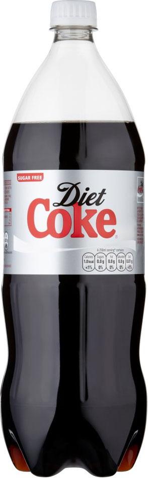 Diet Coke Bottles 1.5L