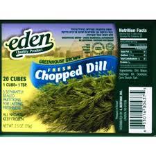 Dill Chopped 70G