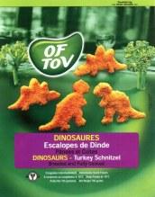 Dinosaur Shaped Turkey Schnitzel 700G