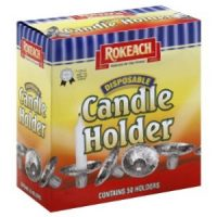 Disposable Candle Holder 10's