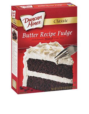 Duncan Hines Butter Recipe 517G