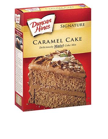 Duncan Hines Caramel Mix 517G