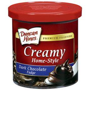 Duncan Hines Dark Chocolate Fudge 517G