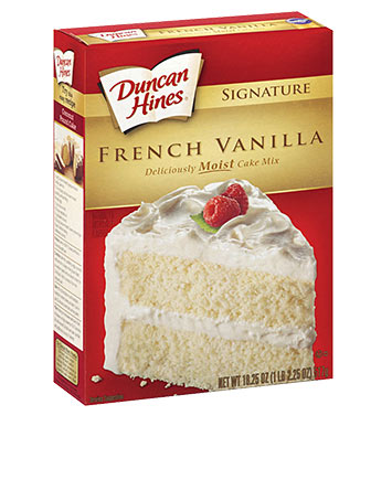Duncan Hines French Vanile 517G
