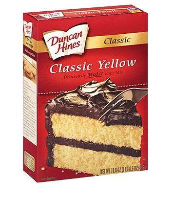 Duncan Hines Yellow Cake Mix 517G