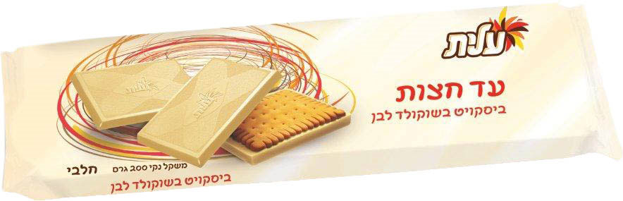 Elite Ad Chazot White Chocolate Biscuit 200G