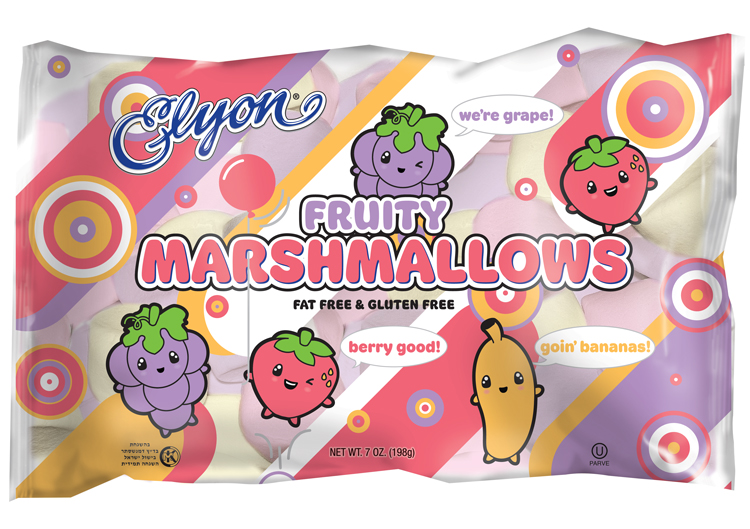 Elyon Marshmallow Fruit Twisted Flavor 141G