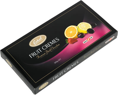 Eskal Assorted Fruit Creams Chocolate Gift 200G