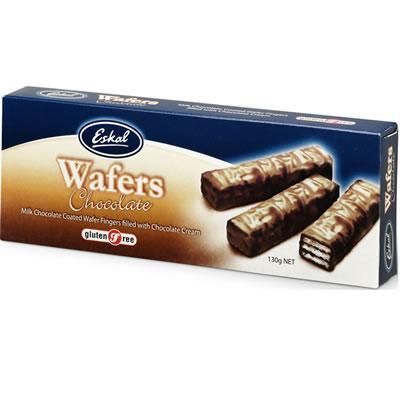 Eskal Gluten Free Chocolate Wafer  130G