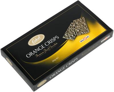 Eskal Orange Crisp Chocolate Wafer Gift 200G