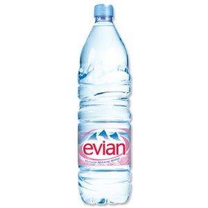 EVIAN  WATER 2 L