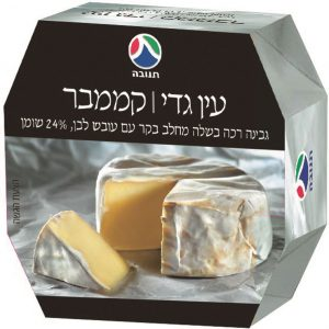 Ein Gedi Camembert Cheese Collage Tnuva 125G