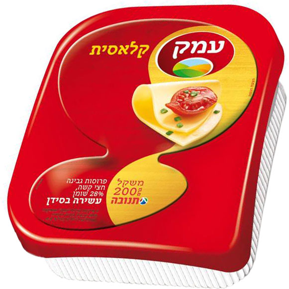 Emek Semi-Hard Cheese  28% Sliced 200G