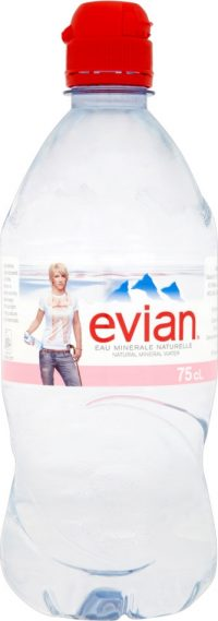 Evian Water 750ml