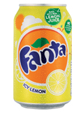 Fanta Lemon Can 330ml