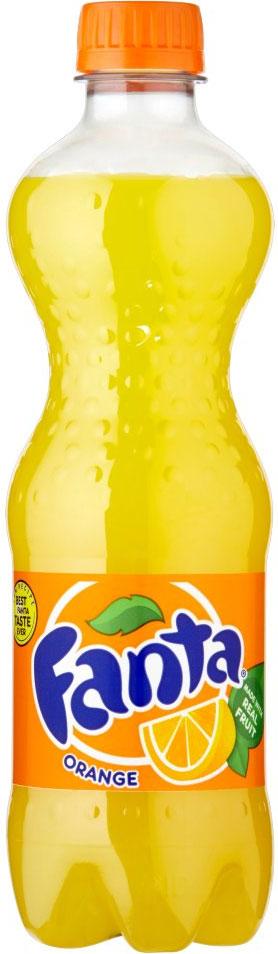 Fanta Orange Bottles 500ml