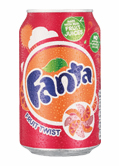 Fanta Twist Can 330ml