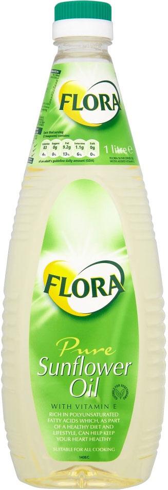 Flora Sunflower Oil 1L