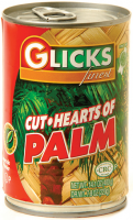 Glicks Cut Hearts Of Palm 425G