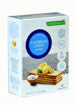Goldbaums Flat Bread Just Salt 150G