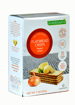 Goldbaums Flat Bread Onion 150G