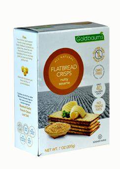 Goldbaums Flat Bread Sesame 150G