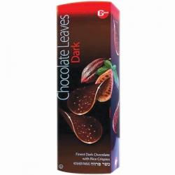 Gross Chocolate Leaves Dark Parve 125G