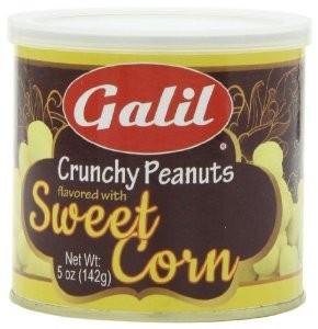 Galil Crunchy Peanut Sweet Corn 142G