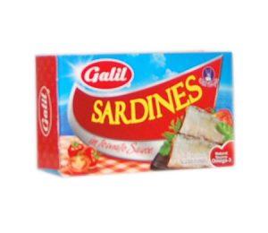 Galil Sardines  Tomato Sauce 124G