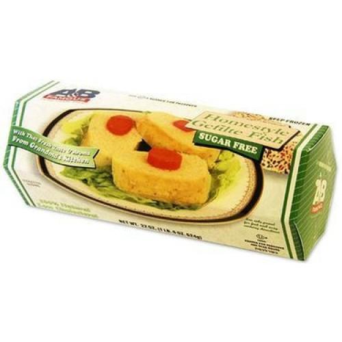 Gefilte Fish - Sugar Free Boxed 616G