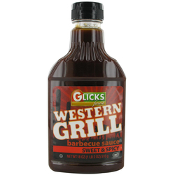 Glick's  BBQ Sauce Squeezy  Sweet & Spicy 510G