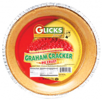 Glick's S Graham Pie Crust 12pc