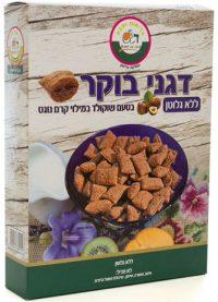 Gluten Free Chocolate Cereal w/Nougat Cream G.Shmuel 300G