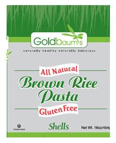 Goldbaums Brown Rice Fusilli 453G
