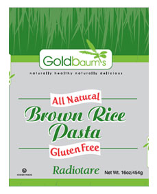 Goldbaums Brown Rice Radiotare 453G