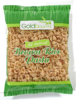 Goldbaums Brown Rice Shells 453G