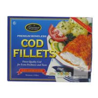 Gourmet Food Cod Fillets 450G