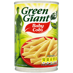 Green Giant Baby Corn 410G