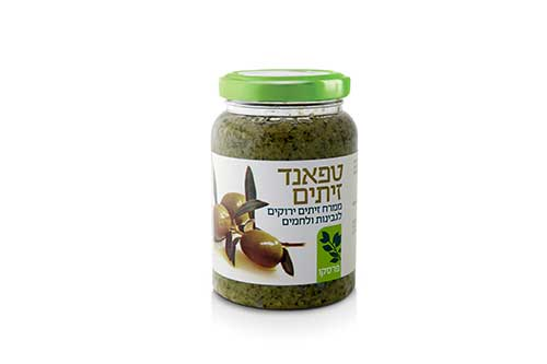 Green Olive Paste Tapenade Fresco Farm 220G