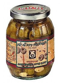 Green Olives Pitted Jars 700G