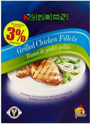 Grilled Chicken Fillet 350G